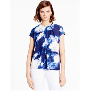 ♠️Kate Spade Dusk Clouds Crepe Top